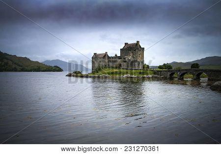 Eilean Donan Castle In The Scottish Highlands