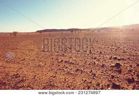 Sahara desert in Morocco, Africa