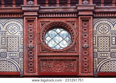 Oldest Berlin Railroad Station Hackescher Markt, Architectonic Details