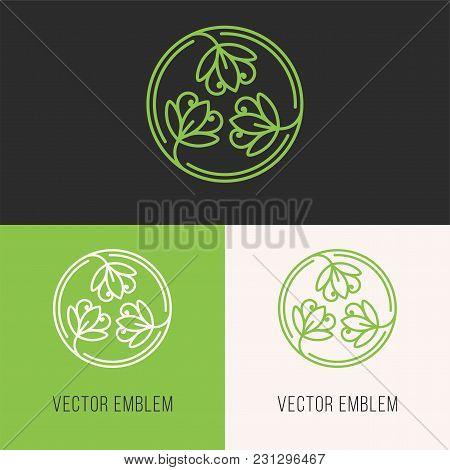 Simple And Stylish Monogram Design Template, Elegant  Line Art Logo Design Template. Element For You