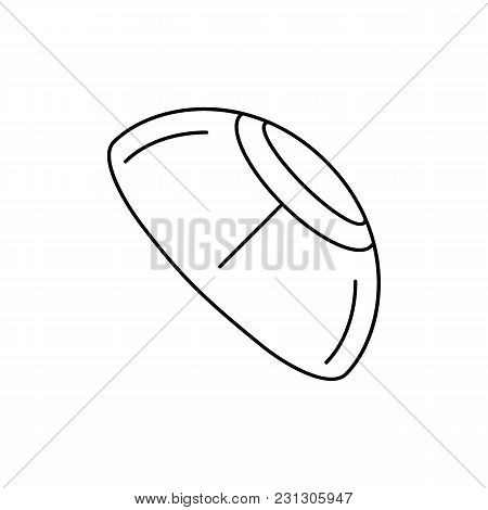 Kippah Icon. Outline Kippah Vector Icon For Web Design Isolated On White Background