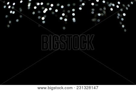 Celebratory Background With Bokeh For Decoration And Design