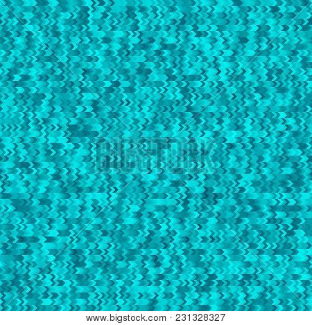 Blue Geometric Seamless Pattern. Arrows Background. Textured Polygonal Abstract Backdrop. Business B