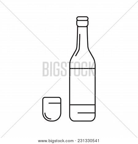 Daepo Drink Icon. Outline Daepo Drink Vector Icon For Web Design Isolated On White Background