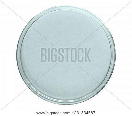 A Petri Dish (aka Petrie Dish Or Petri Plate Or Cell Culture Dish) Cylindrical Glass Or Plastic Lidd