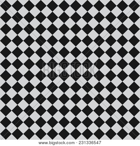 Tile Vector Pattern With Grey And Black Floor Background For Decoration Wallpaper