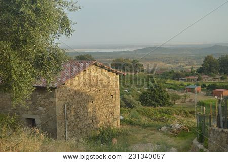 Wonderful Views From The Mountain Of El Raso In The Background You See Your Lake Beautiful Landscape