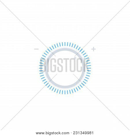 Control Knob, Regulator Vector Illustration, Eps 10 File, Easy To Edit