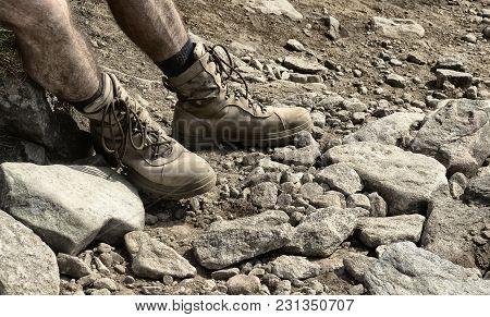 Strong Man's Feet