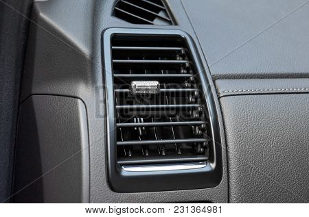 Air Conditioner In Car / Part Of A Car