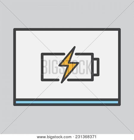 Illustration of battery