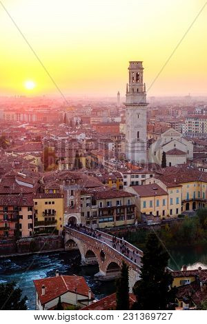 View Of Verona City