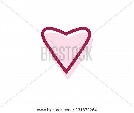 Love Vector Icon Illustration Design