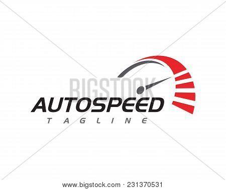 Speed Auto Car Logo Template
