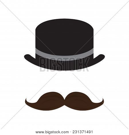 Abstract Hipster Avatar Icon. Vector Illustration Design