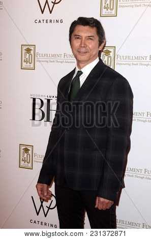 LOS ANGELES - MAR 13:  Lou Diamond Phillips at the Fulfillment Fund Gala at Dolby Theater on March 13, 2018 in Los Angeles, CA