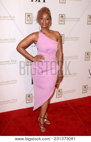 LOS ANGELES - MAR 13:  Anika Noni Rose at the Fulfillment Fund Gala at Dolby Theater on March 13, 2018 in Los Angeles, CA