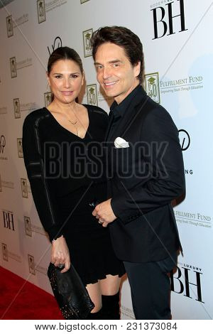 LOS ANGELES - MAR 13:  Daisy Fuentes, Richard Marx at the Fulfillment Fund Gala at Dolby Theater on March 13, 2018 in Los Angeles, CA