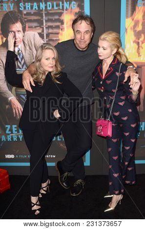 LOS ANGELES - MAR 14:  Beverly D Angelo, Kevin Nealon, Susan Yeagley at the