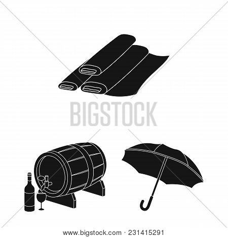 Country France Black Icons In Set Collection For Design. France And Landmark Vector Symbol Stock  Il