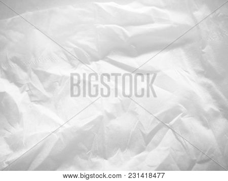 Blur Image -  White Facial Tissues Texture Background