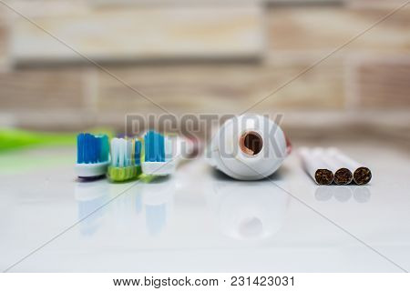 Toothbrushes And Cigarette Smoking Harms Teeth And Health