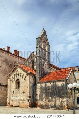 Church Of John The Baptist In Trogir Historic Center, Croatia