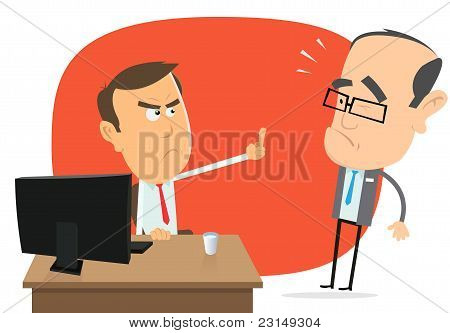Angry White Collar Replies To The Boss