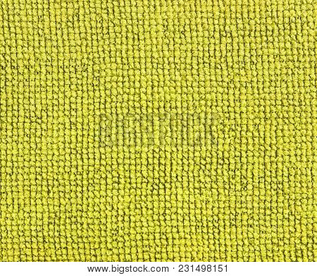 Yellow Fabric Texture Background. Abstract Background, Empty Template.