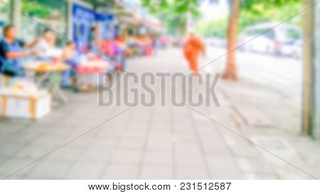 Abstract Blur Market