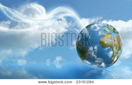 Digital Touchdown With Cloud Computing