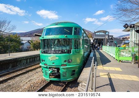 Limited Express Yufuin No Mori Train Are Limited Express Train Services Operated By Kyushu Railway C