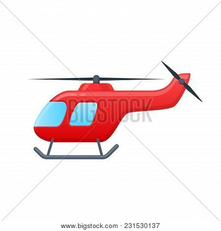 Children Toys, Air Vehicles. Flying Helicopter, For Transportation. Air Passenger Helicopter. Transp