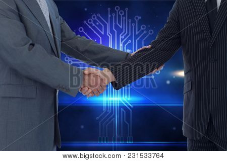 Digital composite of Handshake