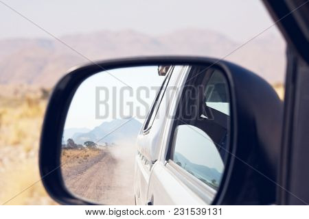 car  in African expedition