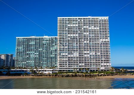 Modern High Rise Condominiums On The Coast Of For Lauderdale