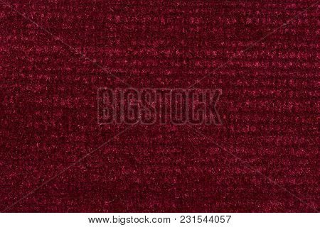 Marvelous Textile Background In Unique Red Tone. High Resolution Photo.