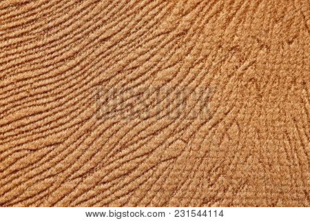 Perfective Brown Textile Background For Your Style. High Resolution Photo.