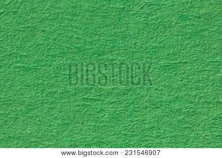 Green Paper Background. Macro Shot. High Resolution Photo