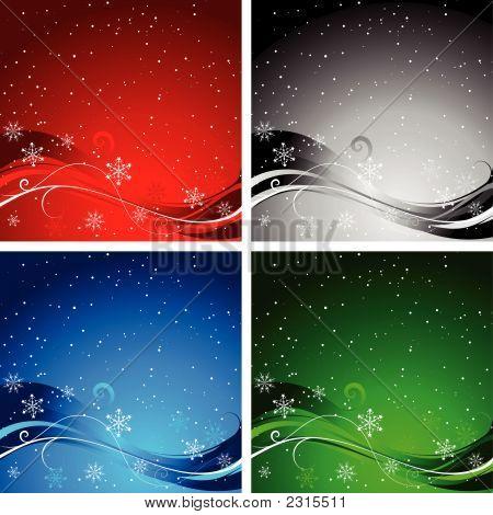Christmas Backgrounds.Eps