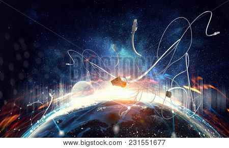 Internet connection and telecommunications