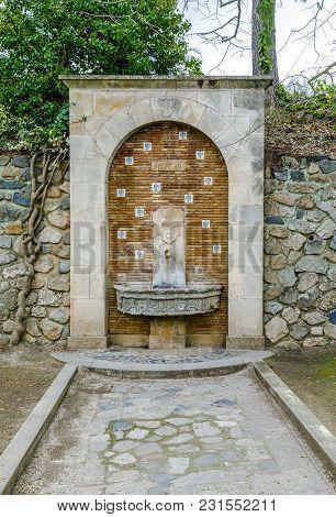 Monastery Of Santa Maria De Poblet, Catalonia, Spain Public Source In Place 1963