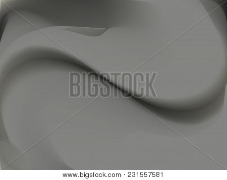 Abstract Smoke, Black And Grey Blurred Background. Smooth Gradient Texture Color. Vector Illustratio