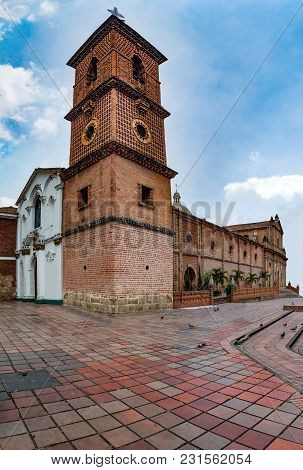 Religious Complex Managed By The Franciscan Community Of Santiago De Cali, In Colombia. It Was Built