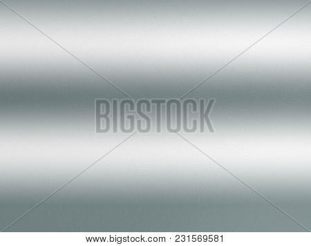 Shiny Silver Gray Foil Texture For Background