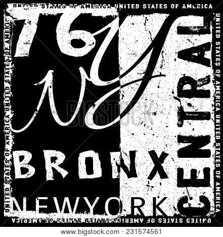New York Graphic Typography Design Fashion Style New Tee Graphic