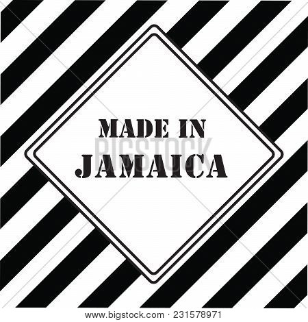 The Industrial Symbol Is Made In Jamaica