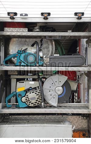 Rescue Tools Equipment Circular Saw And Chainsaw Cutters