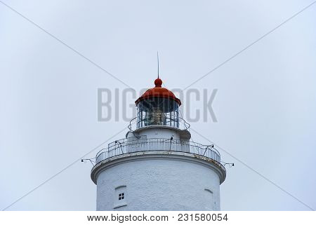 The Top Of The Lighthouse Lange Jan At Ottenby On The Swedish Island Oland In The Baltic Sea