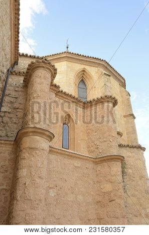 Chapel  In Belmonte, A Village Located In The Province Of Cuenca, Castile-la Mancha, Spain.